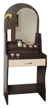Туалетный столик Олимп-мебель 169,2х60х38 см, коричневый