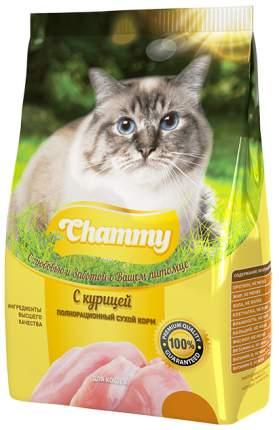 Сухой корм для кошек Chammy, курица, 0,35кг