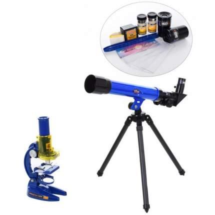 Набор Hobby World телескоп+микроскоп C2109