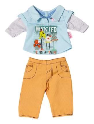 Набор одежды для кукол Zapf Creation для мальчика Baby born 822197 в ассортименте