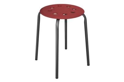 Табурет Hoff 80293327 32х32х45,6 см, красный/черный