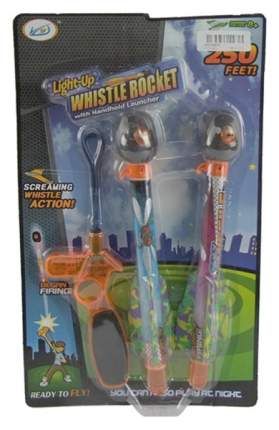 Игровой набор Junfa Whitle Rocket Ракеты с механическим пусковым устройством