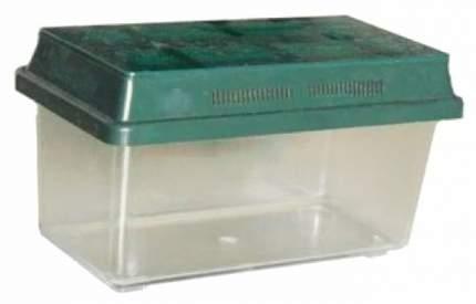 Террариум для рептилий, черепах Вака, переноска, в ассортименте, 10 x 12 x 20 см