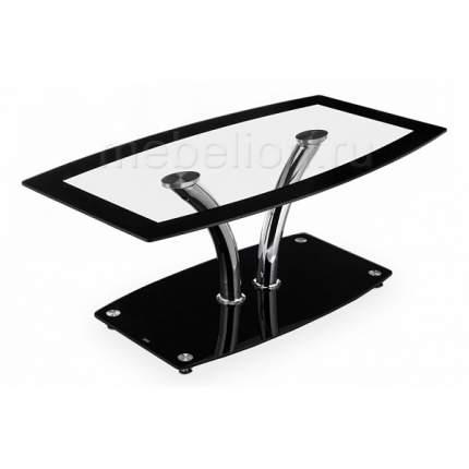 Журнальный стол Woodville 66х44х110 см, бежевый/коричневый