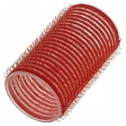 Бигуди Sibel На липучке 36 мм Красные 12 шт