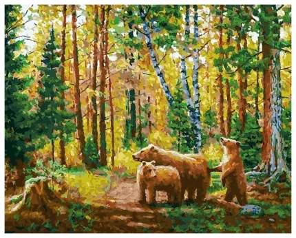 Живопись на холсте 40*50 см Хранители леса