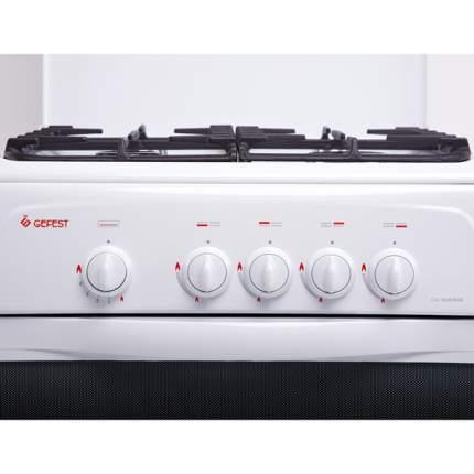 Газовая плита GEFEST CG 50M02 White