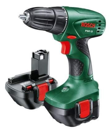Аккумуляторная дрель-шуруповерт Bosch PSR 12 603955521
