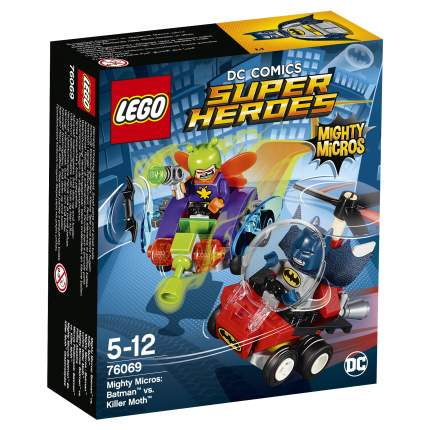 Конструктор LEGO DC Comics Super Heroes Mighty Micros: Бэтмен против Мотылька-убийцы 76069