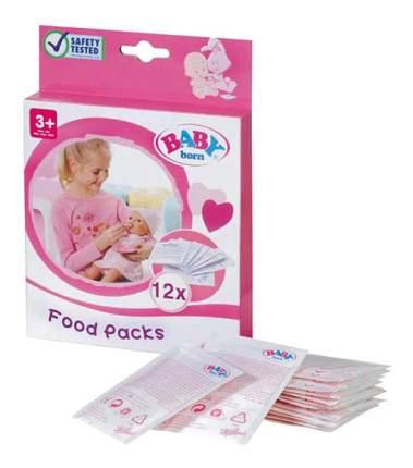 Детское питание 12 пакетиков 779-170 для Baby Born Zapf Creation