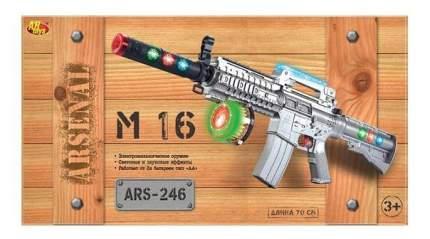 Винтовка м-16 электромеханический 70 см на батарейках ars-246