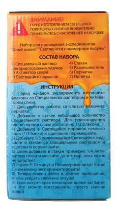 Набор для исследования Висма Cветящиеся полимерные. Лизуны