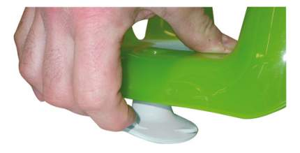Сиденье для купания малыша Ok Baby Flipper evolution зеленый