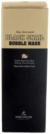 Маска для лица The Skin House Black Snail Bubble Mask 100 мл