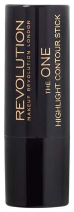 Хайлайтер для лица Makeup Revolution The One Highlight Contour Stick Highlight 12 г