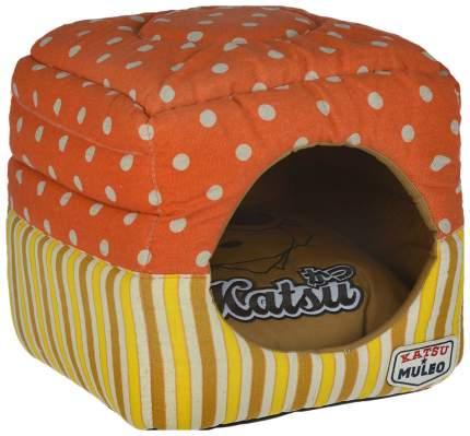 Домик для кошек Katsu Мулео S оранжевый