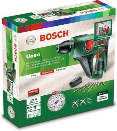 Аккумуляторный перфоратор Bosch Uneo 12 060398400C БЕЗ АККУМУЛЯТОРА И З/У
