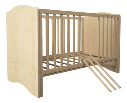 Кровать-трансформер Polini Simple 140 х 70 см, натуральный