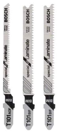 Набор пилок для лобзика Bosch T 101 ВIF, T 101AOF 2608636429