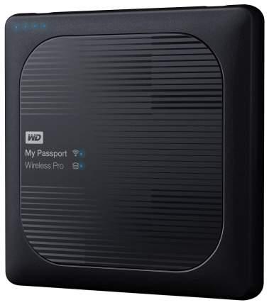 Внешний диск HDD WD My Passport Wireless Pro 4TB Black (WDBSMT0040BBK-RESN)