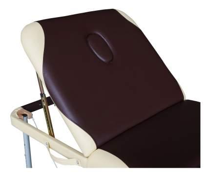 Массажный стол DFC Nirvana Elegant Pro коричневый/бежевый