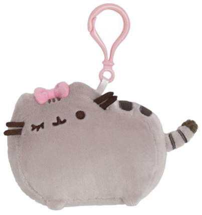 Мягкая игрушка Gund Pusheen Backpack Clip Chef Hat 9 см
