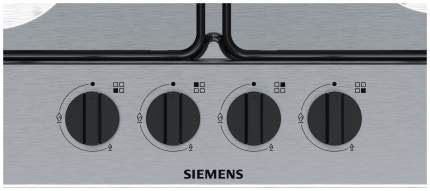 Встраиваемая варочная панель газовая Siemens EG6B5HB60 Silver