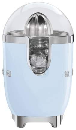 Соковыжималка для цитрусовых Smeg CJF01PBEU blue/silver