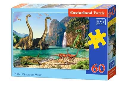 Пазл Castorland 60 деталей, Динозавры