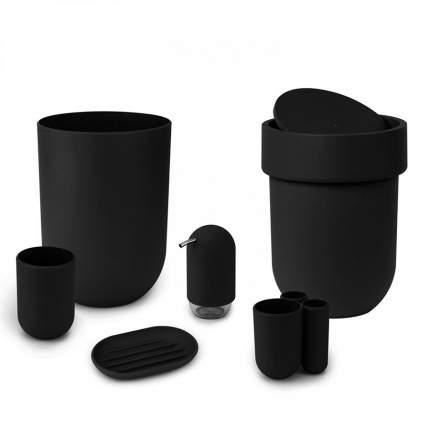 Подставка для зубных щеток Touch черная