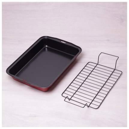 Форма для запекания Kamille 6001 Черный, красный