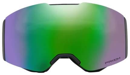 Горнолыжная маска Oakley Fall Line 2019 Black/Green