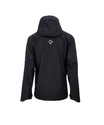 Спортивная куртка мужская Norrona Falketind Gore-Tex, caviar black, L