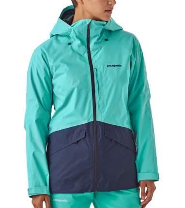 Спортивная куртка женская Patagonia Insulated Snowbelle, strait blue, L