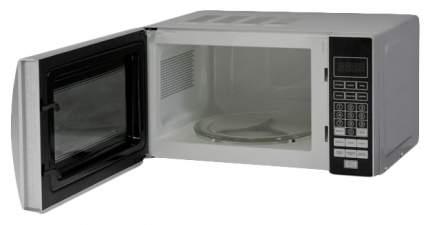 Микроволновая печь соло DeLuxe MF-К20-E-W silver/black