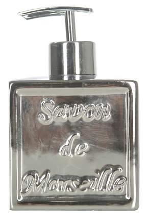 Диспенсер для жидкого мыла Spirella Savon De Marseille Серебро