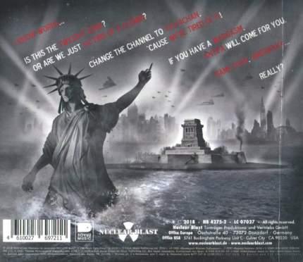 """Аудио диск Ministry """"AmeriKKKant"""""""