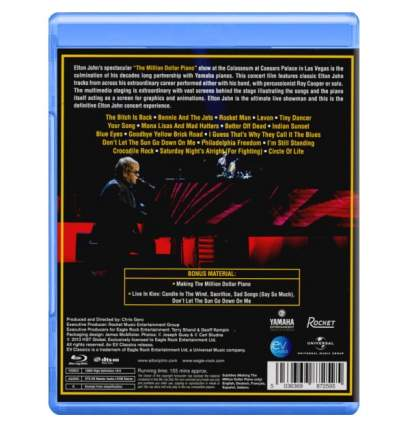 Elton John The Million Dollar Piano