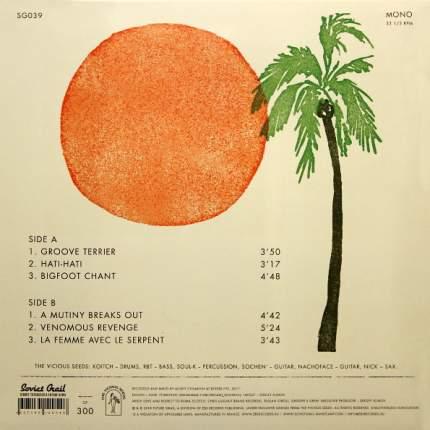 """Виниловая пластинка The Vicious Seeds """"Illegal Pleasures"""" (10"""" Vinyl EP)"""