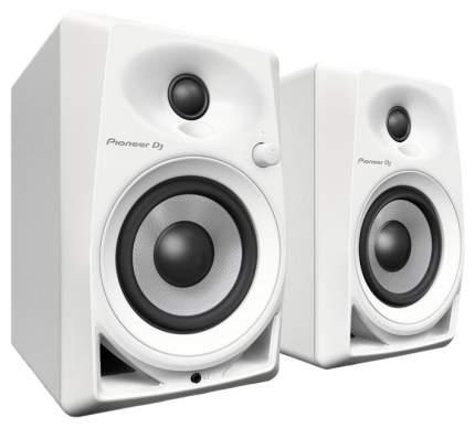 Активные колонки Pioneer DJ DM-40-W Piano White