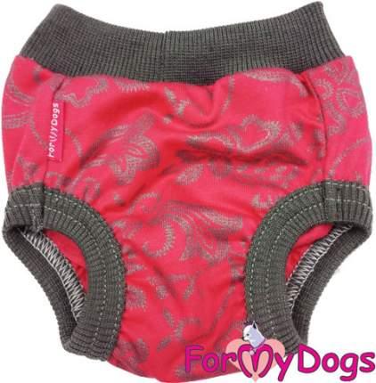 Трусики для собак FOR MY DOGS, женские, красно-серые, 419SS-2019 12
