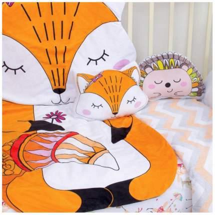 Подушка декоративная Крошка Я «Лисичка», 35 × 27 см, велюр, наполнитель 250 г/м² Крошка Я