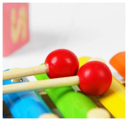 """Музыкальная игрушка """"Металлофон. Кит"""", 8 тонов Sima-Land"""