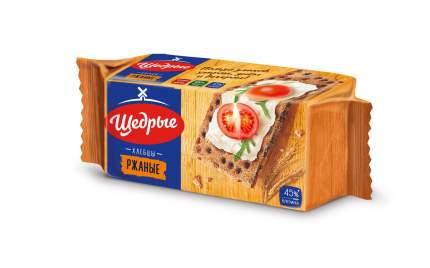 Хлебцы Щедрые ржаные 100 г