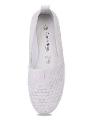 Эспадрильи женские Alessio Nesca Comfort 710018744 белые 36 RU