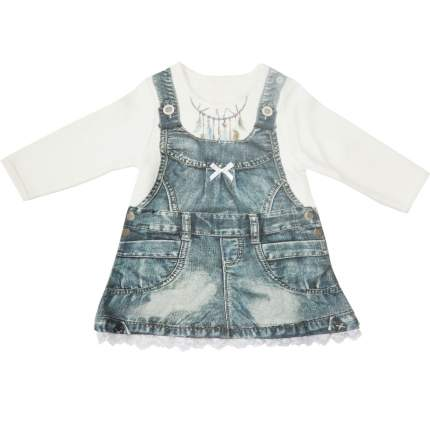 Платье Папитто Fashion Jeans с длинным рукавом р.22-74, 575-07