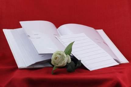 Фотоальбом свадебный на 120 фото 10х15 см и 40 фото 15х21 см, Овал, тканевая обложка