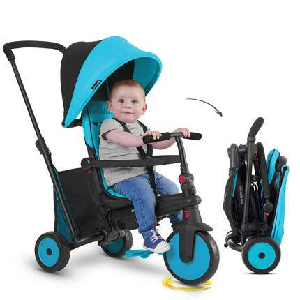 Коляска Smart Trike ST-0818300-2 Голубой