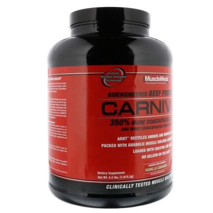 Гейнер Musclemeds Carnivor Mass 4530 г Vanilla Caramel