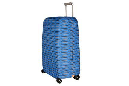 Чехол для чемодана Routemark Хром M/L SP500 серый